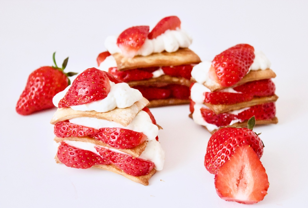 Strawberry Mille Feuille **