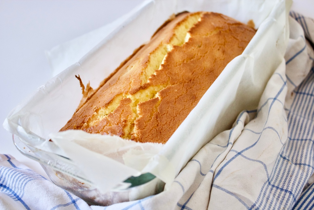 Lemon and cardamon cake *